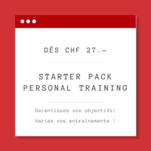Starter Pack - personal training