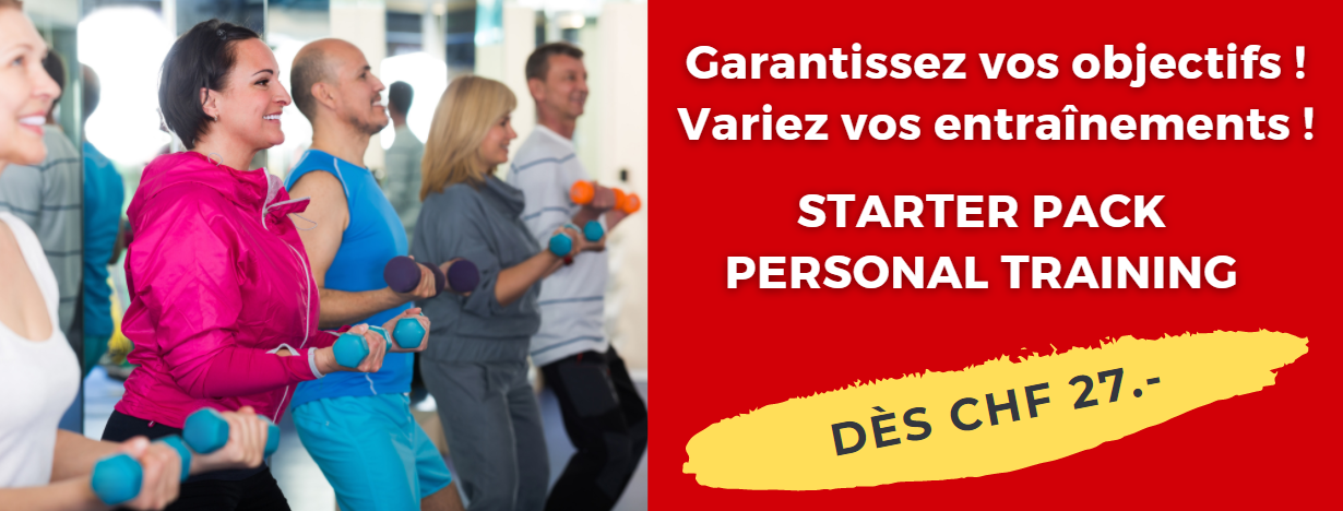 Offre starter pack - personal training