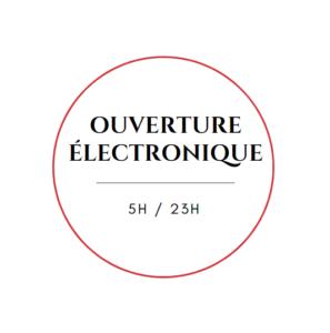 Ouverture électronique