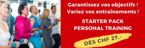 Starter Pack - personal training - offre