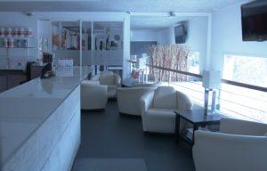 Bar, accueil, lounge