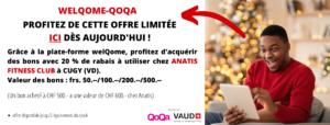 Offre QOQA - ABONNEMENT FITNESS